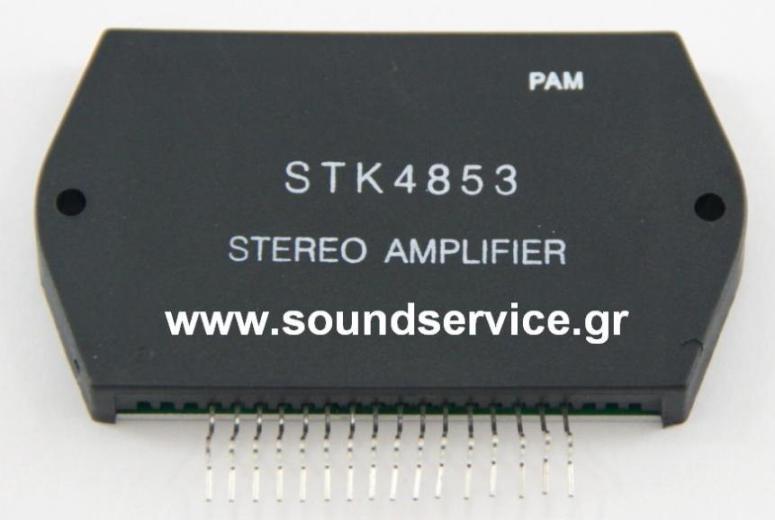 STK-4853 INTERGATED CIRCUIT