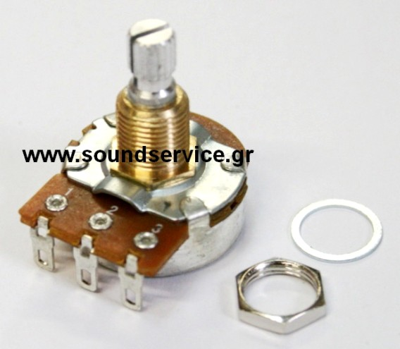 24mm BOURNS ROTARY GUITAR POTENTIOMETER CHASIS MONO 1MA CABLE