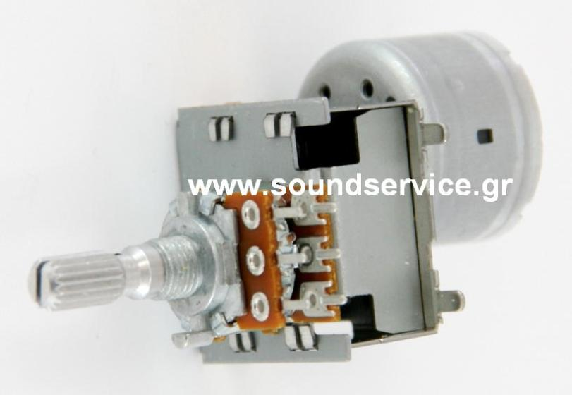 Rotary Potentiometer Stereo 10kbx2 With Motor Motorized
