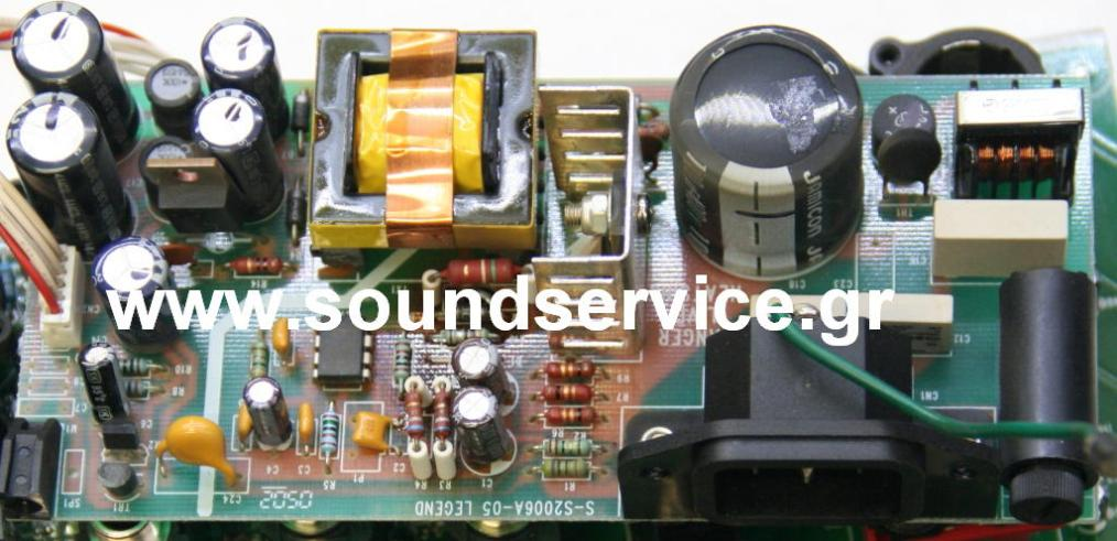 SOUNDCRAFT SERVICE SPIRIT E REPAIR POWER SUPPLY PCB BOARDS επισκευή ...