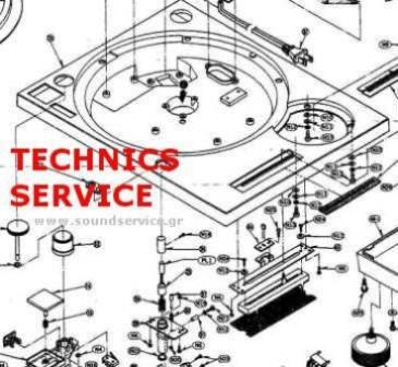 SL1200 MK2 TECHNICS SL-1200-MK2 FREE SERVICE MANUAL TECHNICS